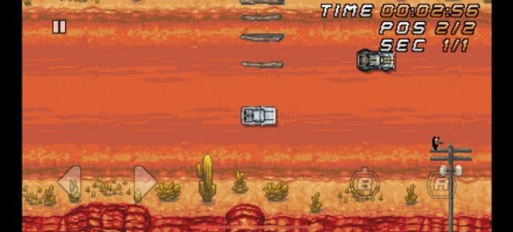 安卓和iOS新版Super Arcade Racing为您带来16位乐趣