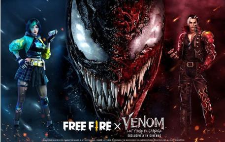 Free Fire与Venom的合作内容